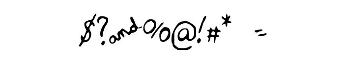 RRQuartet Font OTHER CHARS