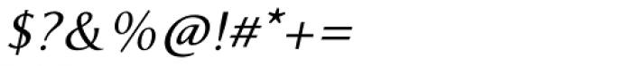 RRollie Semi Bold Italic Font OTHER CHARS