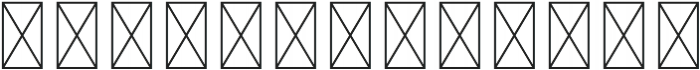 RS Numerals Outline otf (400) Font LOWERCASE