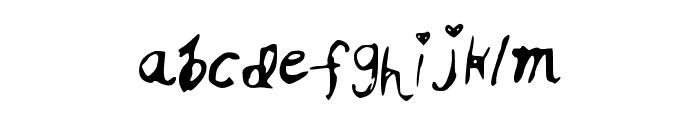 RSHoneyPie Font LOWERCASE