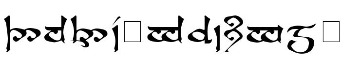 RSMoroma Medium Font UPPERCASE