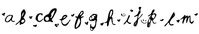 RSMsCutie Font LOWERCASE