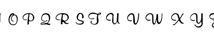 RSRichardMurray Font UPPERCASE