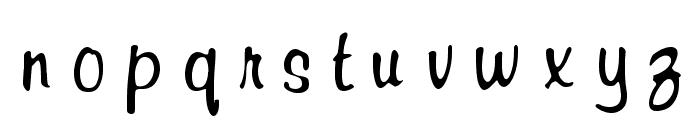 RSRichardMurray Font LOWERCASE