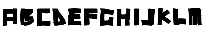 RT DIY-Tape Font UPPERCASE
