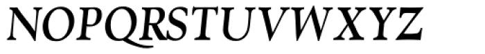 RTF Amethyst Bold Italic SC Font UPPERCASE