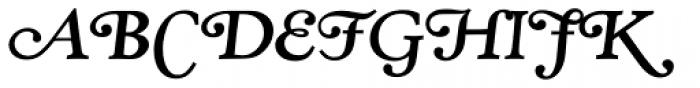 RTF Amethyst Bold Swash Font UPPERCASE