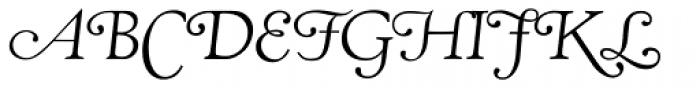 RTF Amethyst Book Swash Font UPPERCASE