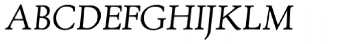 RTF Amethyst Italic SC Font UPPERCASE