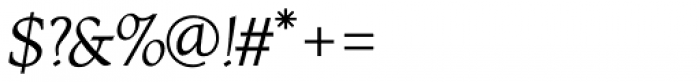 RTF Amethyst Italic Font OTHER CHARS