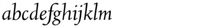 RTF Amethyst Italic Font LOWERCASE