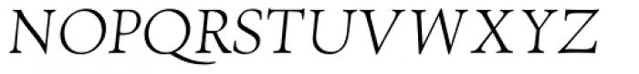 RTF Amethyst Light Italic SC Font UPPERCASE