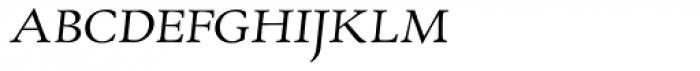 RTF Amethyst Light Italic SC Font LOWERCASE
