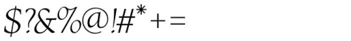 RTF Amethyst Light Italic Font OTHER CHARS