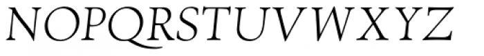 RTF Amethyst Light Italic Font UPPERCASE