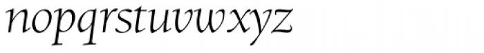 RTF Amethyst Light Italic Font LOWERCASE