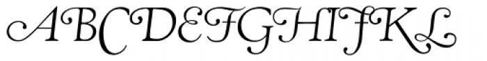RTF Amethyst Light Swash Font UPPERCASE
