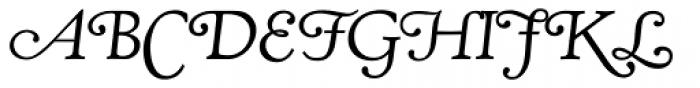 RTF Amethyst Swash Smallcaps Font UPPERCASE