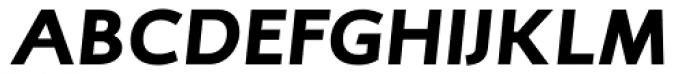 RTF Credo Black Italic SC Font UPPERCASE
