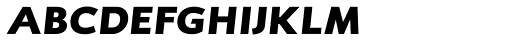 RTF Credo Black Italic SC Font LOWERCASE