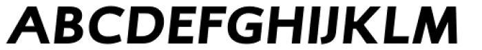 RTF Credo Black Italic Font UPPERCASE