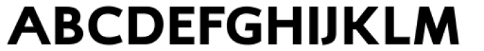 RTF Credo Black SC Font UPPERCASE