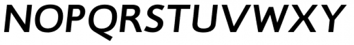 RTF Credo Bold Italic Font UPPERCASE