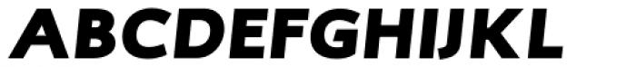 RTF Credo ExtraBlack Italic Font UPPERCASE