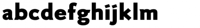 RTF Credo ExtraBlack Font LOWERCASE