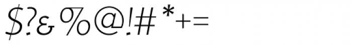 RTF Credo ExtraLight Italic SC Font OTHER CHARS