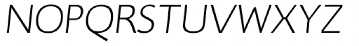 RTF Credo ExtraLight Italic SC Font UPPERCASE
