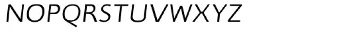 RTF Credo ExtraLight Italic SC Font LOWERCASE