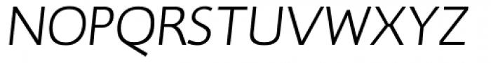 RTF Credo Light Italic SC Font UPPERCASE