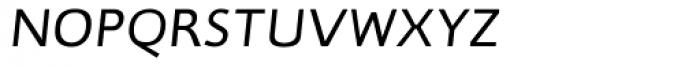 RTF Credo Light Italic SC Font LOWERCASE