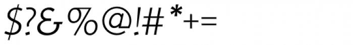 RTF Credo Light Italic Font OTHER CHARS