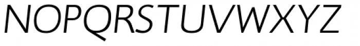 RTF Credo Light Italic Font UPPERCASE