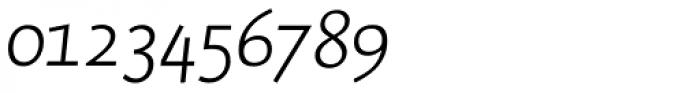 RTF Dokument Light Italic SC Font OTHER CHARS