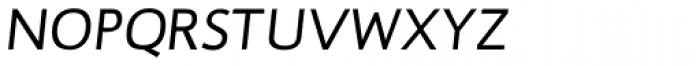 RTF Dokument Light Italic SC Font LOWERCASE