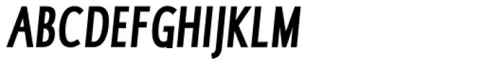 RTF Dokument XCnd Bold Italic SC Font UPPERCASE