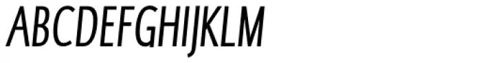 RTF Dokument XCnd Italic Font UPPERCASE