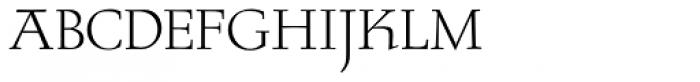 RTF Stern Small Caps Font UPPERCASE