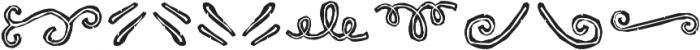 RUBA STYLE DINGBAT LINE 02 Normal otf (400) Font OTHER CHARS