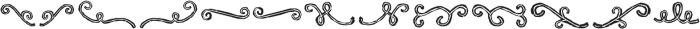 RUBA STYLE DINGBAT LINE 02 Normal otf (400) Font UPPERCASE