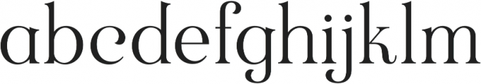 Rubber Boots otf (400) Font LOWERCASE