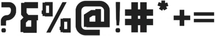 Rubrick otf (700) Font OTHER CHARS