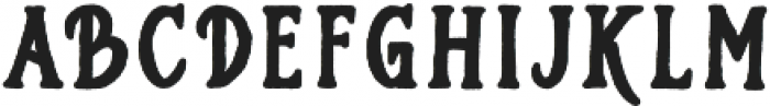 Rude Cookie Blok otf (400) Font LOWERCASE