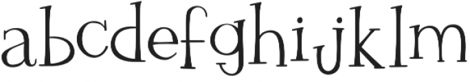 Rudolphs Holiday Party otf (400) Font LOWERCASE