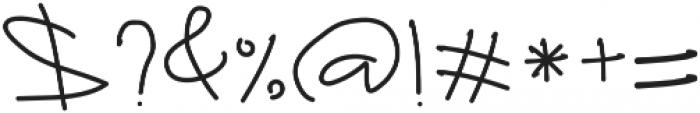 Ruffle Beauty otf (400) Font OTHER CHARS