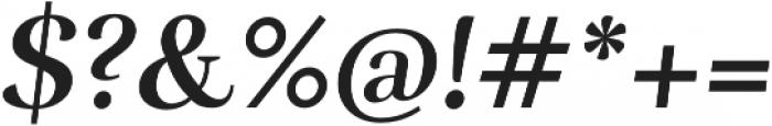Rufina Bold Italic otf (700) Font OTHER CHARS