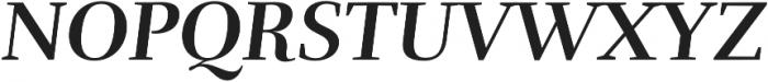 Rufina Bold Italic otf (700) Font UPPERCASE